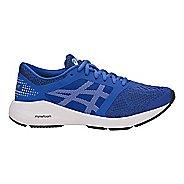 Kids ASICS Roadhawk FF Running Shoe - Blue/White/Black 4Y