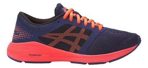 Kids ASICS Roadhawk FF Running Shoe - Indigo/Orange 3.5Y