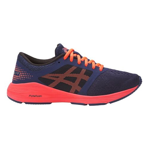 ASICS Roadhawk FF Running Shoe - Indigo/Orange 7Y