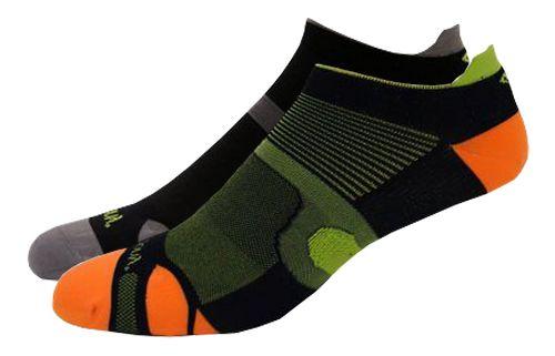 Saucony XP Superlite 6 Pack Socks - Black Assorted M