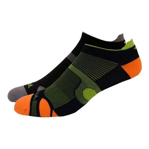 Saucony XP Superlite 6 Pack Socks - Black Assorted L