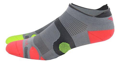 Saucony XP Superlite 6 Pack Socks - Grey Assorted S