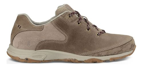 Womens Ahnu Sugar Venture Lace Walking Shoe - Smoked Timber 9
