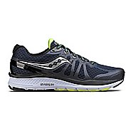 Mens Saucony Echelon 6 Running Shoe - Navy/Citron 12