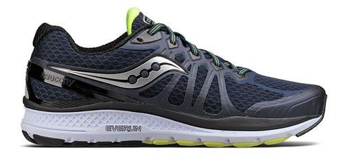 Mens Saucony Echelon 6 Running Shoe - Navy/Citron 10.5