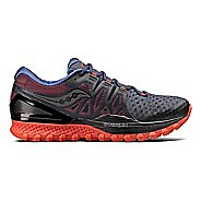 Mens Saucony Xodus ISO 2 Trail Running Shoe - Black/Orange 10