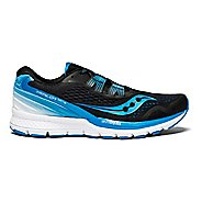 Mens Saucony Zealot ISO 3 Running Shoe - Black/Blue/White 8.5