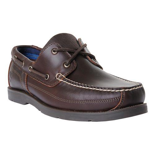 Mens Timberland Piper Cove Casual Shoe - Medium Brown 7.5