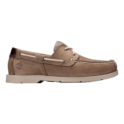 Mens Timberland Piper Cove Casual Shoe - Light brown nubuck 9.5