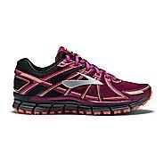 Womens Brooks Adrenaline ASR 14 Trail Running Shoe - Black/Purple 7