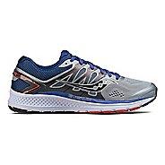 Mens Saucony Omni 16 Running Shoe - Grey/Navy 12.5