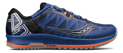 Mens Saucony Koa TR Trail Running Shoe - Blue/Orange 7.5