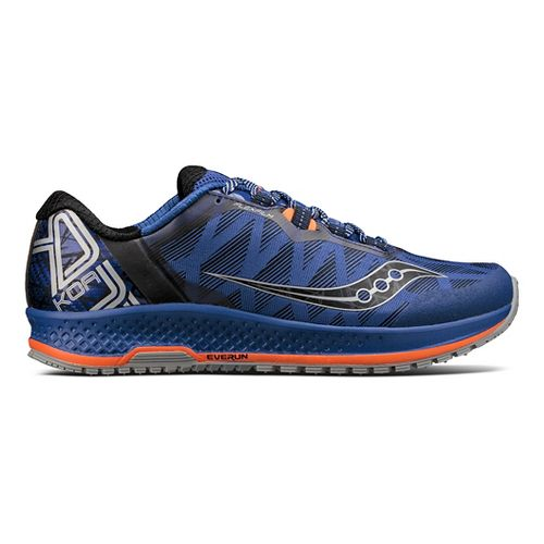 Mens Saucony Koa TR Trail Running Shoe - Blue/Orange 9.5