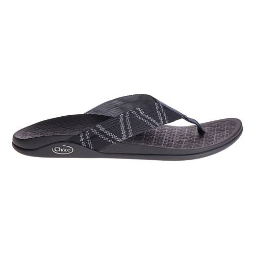 Mens Chaco Waypoint Cloud Sandals Shoe - Glitch Black 10