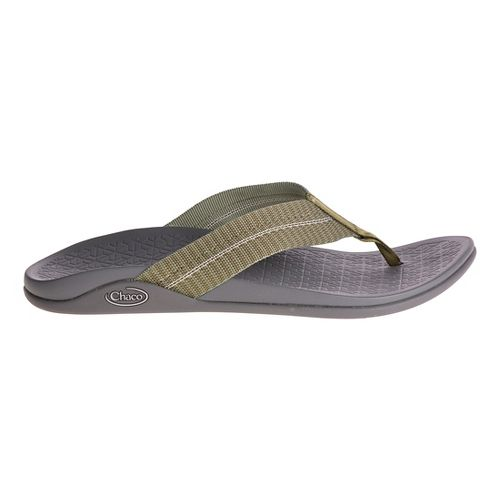 Mens Chaco Waypoint Cloud Sandals Shoe - Green 7