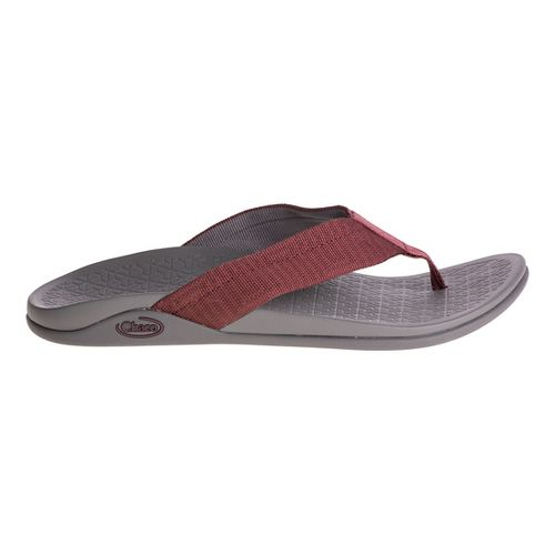 Mens Chaco Waypoint Cloud Sandals Shoe - Maze Red 10