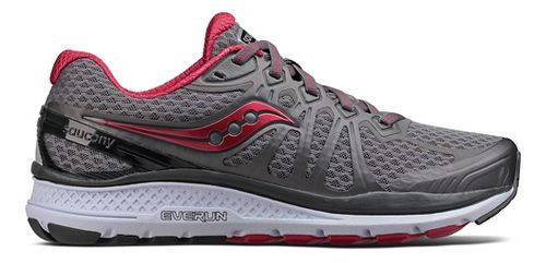 Womens Saucony Echelon 6 Running Shoe - Grey/Pink 6.5