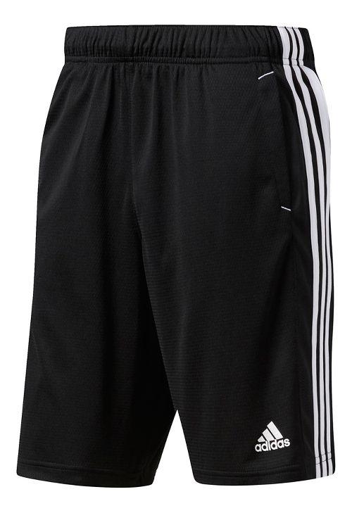 Mens Adidas Essential Unlined Shorts - Black/White XXL