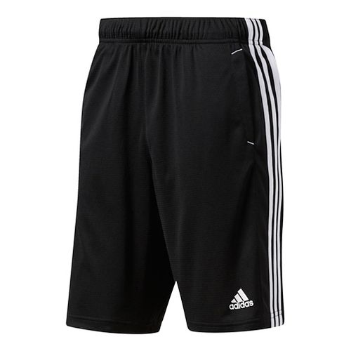 Mens Adidas Essential Unlined Shorts - Black/White S