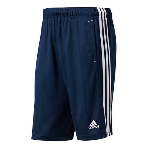 Mens Adidas Essential Unlined Shorts - Navy/White L