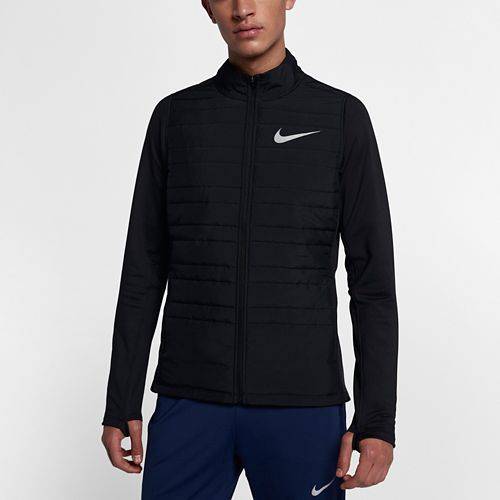 Mens Nike Filled Essential Cold Weather Jackets - Black M