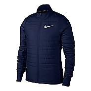 Mens Nike Filled Essential Cold Weather Jackets - Binary Blue M