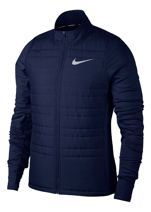 Mens Nike Filled Essential Cold Weather Jackets - Binary Blue S