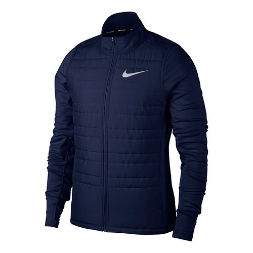 Mens Nike Filled Essential Cold Weather Jackets - Binary Blue L