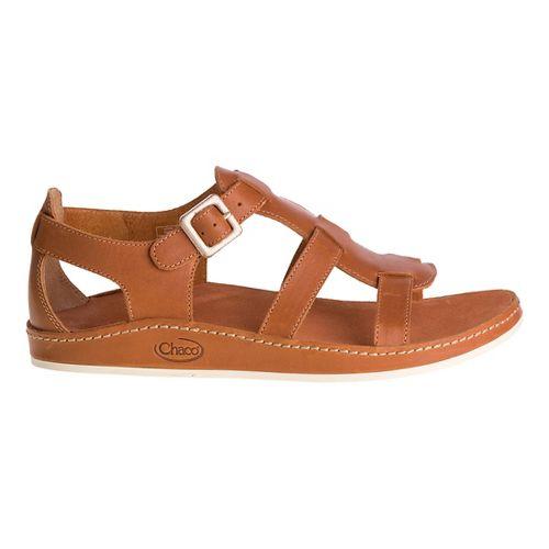 Womens Chaco Aubrey Sandals Shoe - Adobe 7