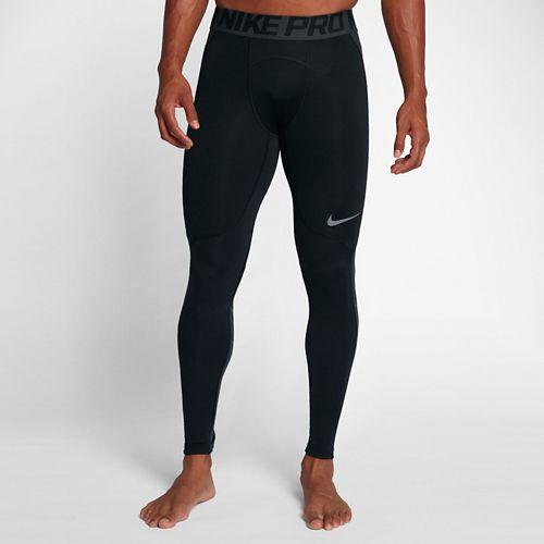 Mens Nike Pro Hyperwarm Tights & Leggings Pants - Black L