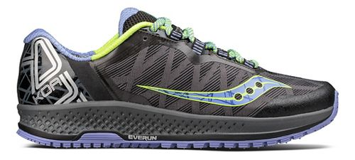 Womens Saucony Koa TR Trail Running Shoe - Grey/Blue 11.5