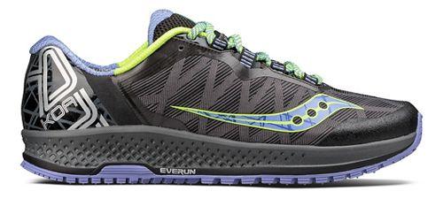 Womens Saucony Koa TR Trail Running Shoe - Grey/Blue 5.5