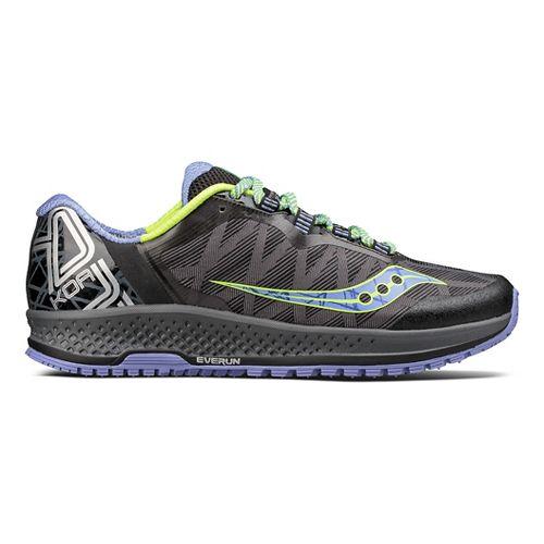 Womens Saucony Koa TR Trail Running Shoe - Grey/Blue 10.5