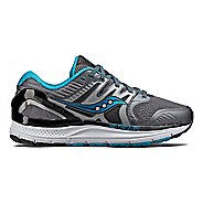 Womens Saucony Redeemer ISO 2 Running Shoe - Grey/Blue 11