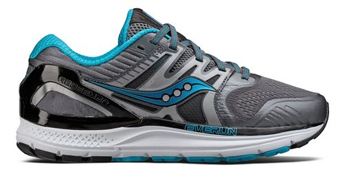 Womens Saucony Redeemer ISO 2 Running Shoe - Grey/Blue 9
