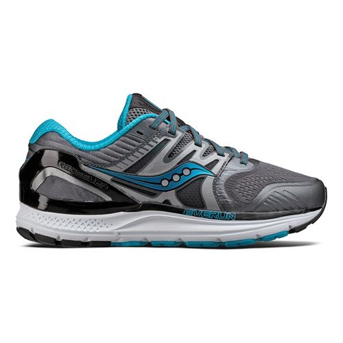 Womens Saucony Redeemer ISO 2 Running Shoe - Grey/Blue 11.5