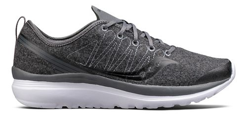 Womens Saucony Swivel Casual Shoe - Dark Grey 11