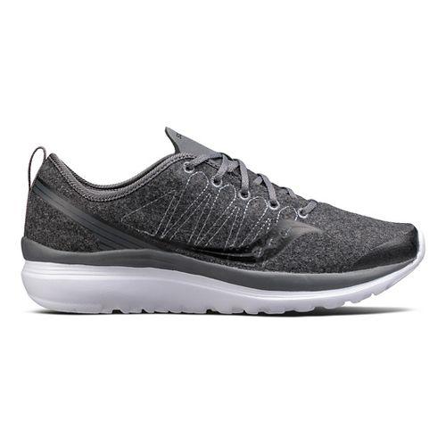 Womens Saucony Swivel Casual Shoe - Dark Grey 6