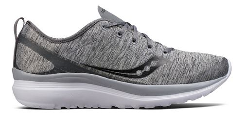 Womens Saucony Swivel Casual Shoe - Grey Heather 5