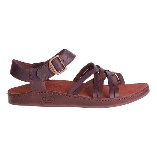 Womens Chaco Fallon Sandals Shoe - Java 7