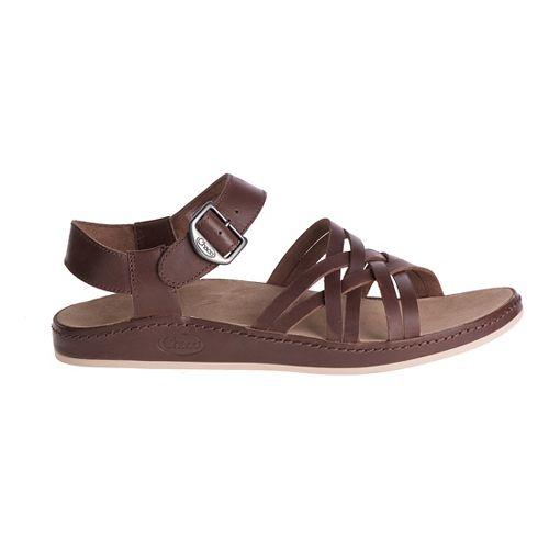 Womens Chaco Fallon Sandals Shoe - Pinecone 10