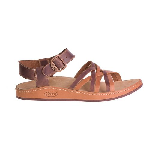 Womens Chaco Fallon Sandals Shoe - Toasted Brown 8