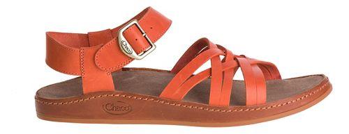 Womens Chaco Fallon Sandals Shoe - Flamingo 10