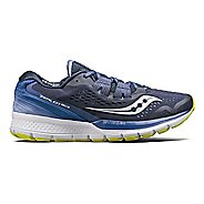 Womens Saucony Zealot ISO 3 Running Shoe - Navy/Purple 5.5