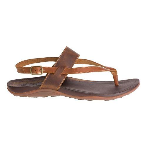 Womens Chaco Maya Sandals Shoe - Bronze 9
