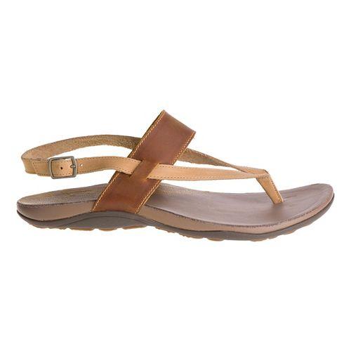 Womens Chaco Maya Sandals Shoe - Golden 9