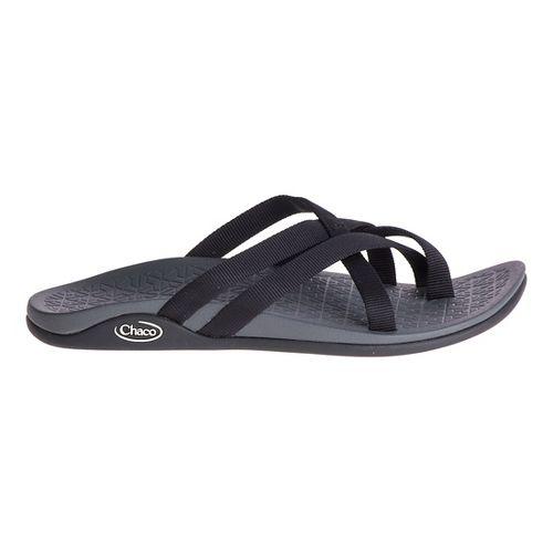 Womens Chaco Tempest Cloud Sandals Shoe - Black 8
