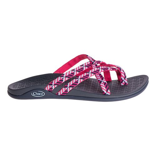 Womens Chaco Tempest Cloud Sandals Shoe - Oragami Berry 10