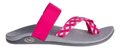 Womens Chaco Tetra Cloud Sandals Shoe - Braid Berry 5