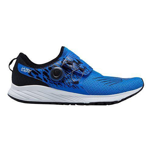 Mens New Balance Sonic v1 Running Shoe - Blue/Black 8.5